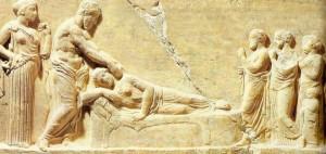 Dieu Asclépios